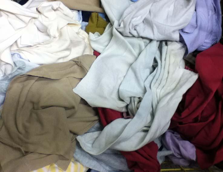 production chiffon essuyage coton tarn