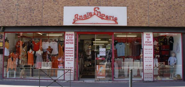 anais friperie toulouse vetements d'occasions